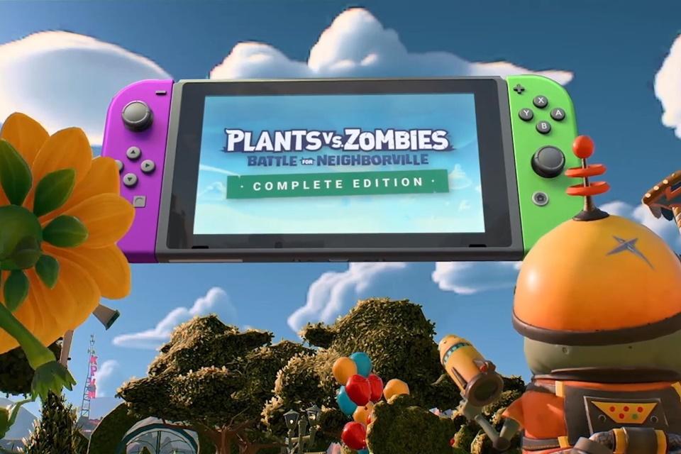 Plants vs. Zombies: Battle for Neighborville chega em março para Switch