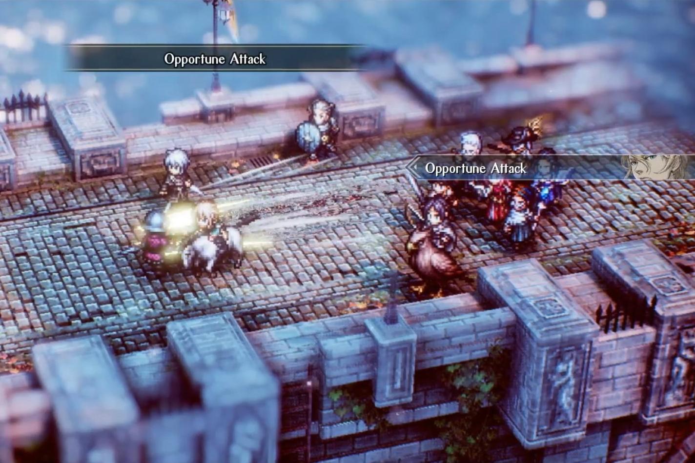 Project Triangle Strategy é o RPG tático da Square à la FF Tactics