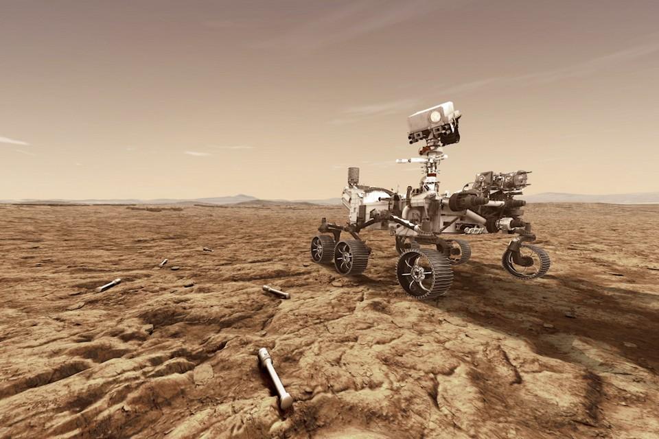 Perseverance envia as primeiras imagens de Marte