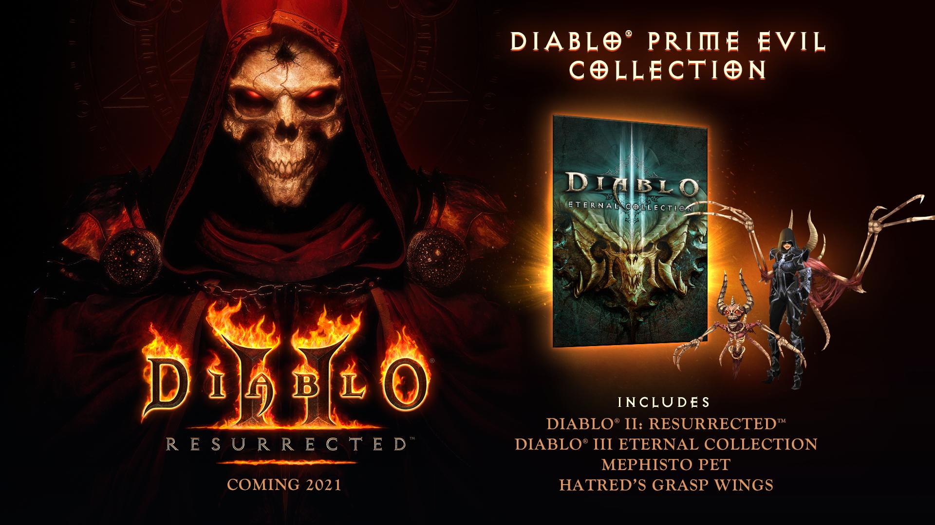 Diablo II Ressurected chega ainda em 2021 e já está em pré-venda no PC
