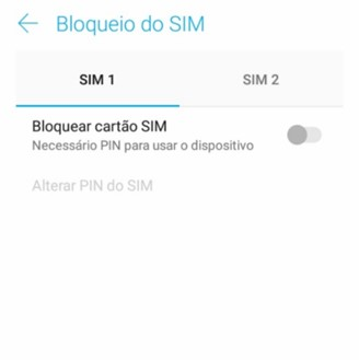 Enabling PIN on Android.