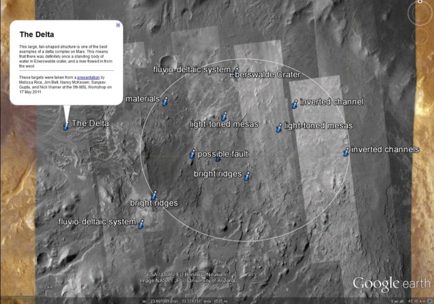 Google Mars in 2012.