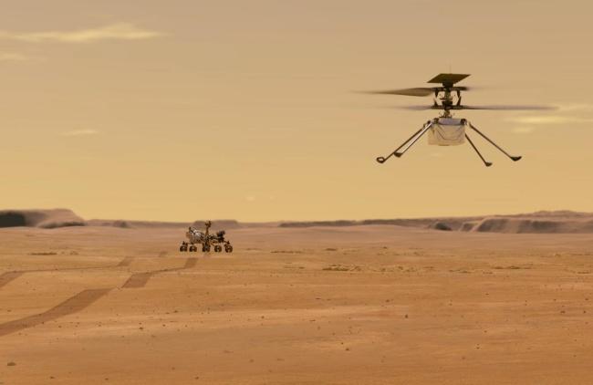 O drone da NASA usa tecnologia de celulares de 2014.