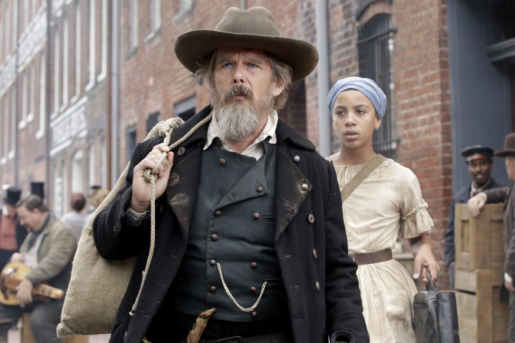 Recentemente, Ethan Hawke interpretou o abolicionista John Brown na série The Good Lord Bird, exibida pela Showtime. (Reprodução)