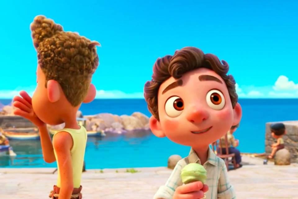 Luca: nova animação da Pixar ganha arte oficial inédita; confira