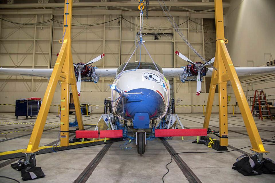NASA realizará testes de alta voltagem em seu avião 100% elétrico