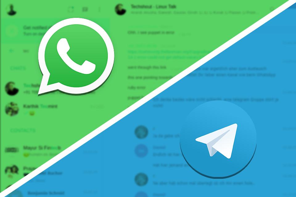 WhatsApp Web vs. Telegram Web: qual é o melhor para usar no PC?
