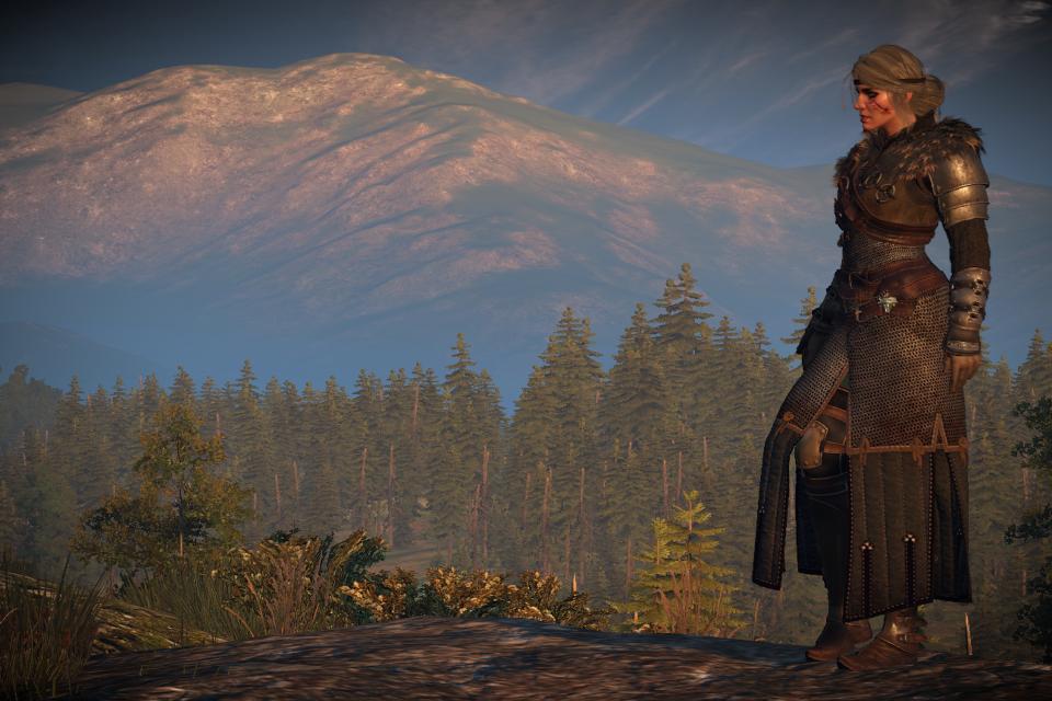 Mod de The Witcher 3 traz Ciri com armadura sensacional de Geralt