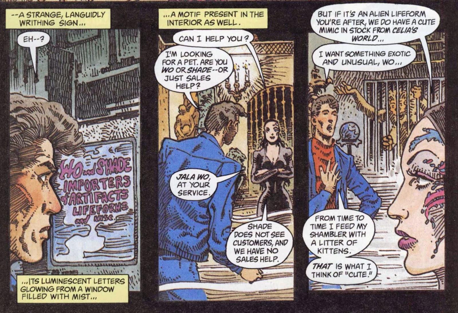 Sandkings já foi publicado em quadrinhos pela DC.