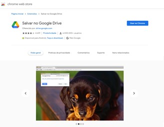 Save to Google Drive allows you to save files from the internet directly to Google Drive