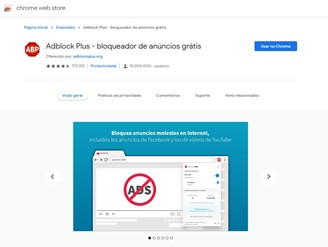 Adblock Plus prevents advertising pollution on many websites
