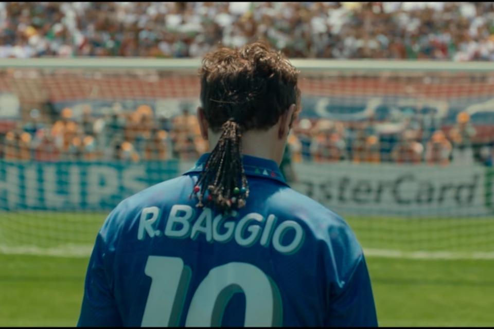 O Divino Baggio: Netflix divulga teaser do filme do ex-jogador
