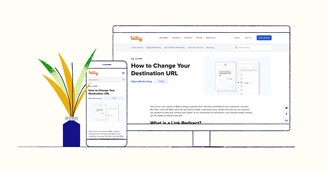 Bitly can be accessed on the computer and on mobile.