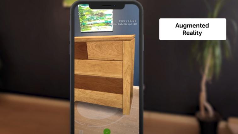 3D furniture.