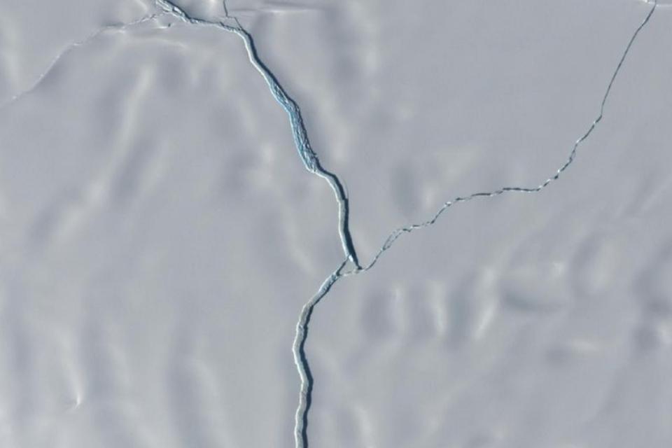 Iceberg do tamanho do Rio de Janeiro se desprendeu da Antártica