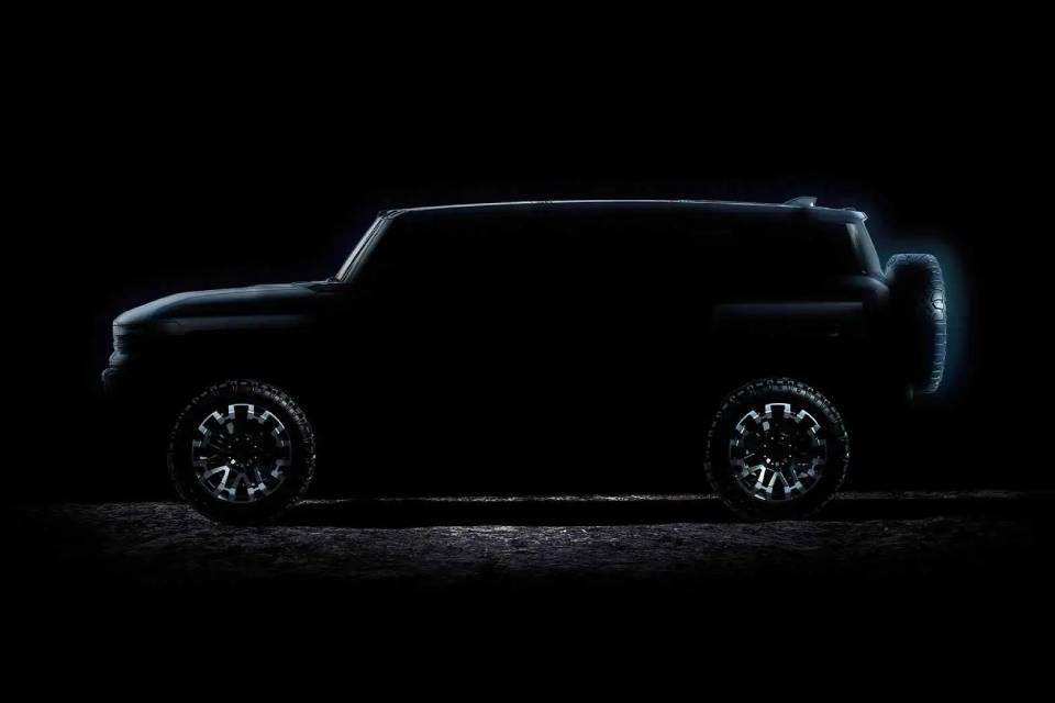 Versão SUV de Hummer elétrico será revelada em abril pela GMC