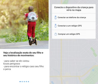 With Find My Kids you can add your child's cell phone or even a smart watch to track your location in real time