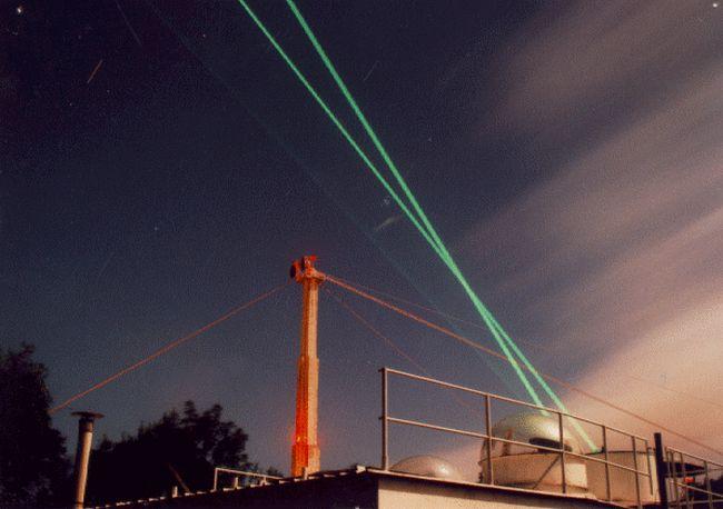 LIDAR system installed in Arecibo.
