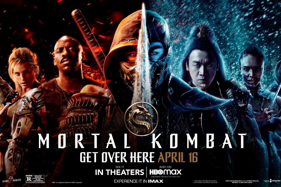 Filme de Mortal Kombat ganha pôster sensacional com personagens