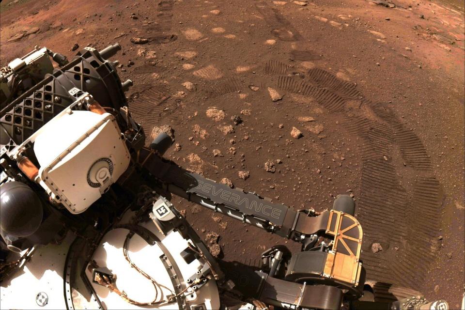 NASA divulga áudio de disparos a laser em uma rocha de Marte