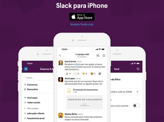 Slack has versions for iOS, Android, Windows, Mac, Linux and the Web.