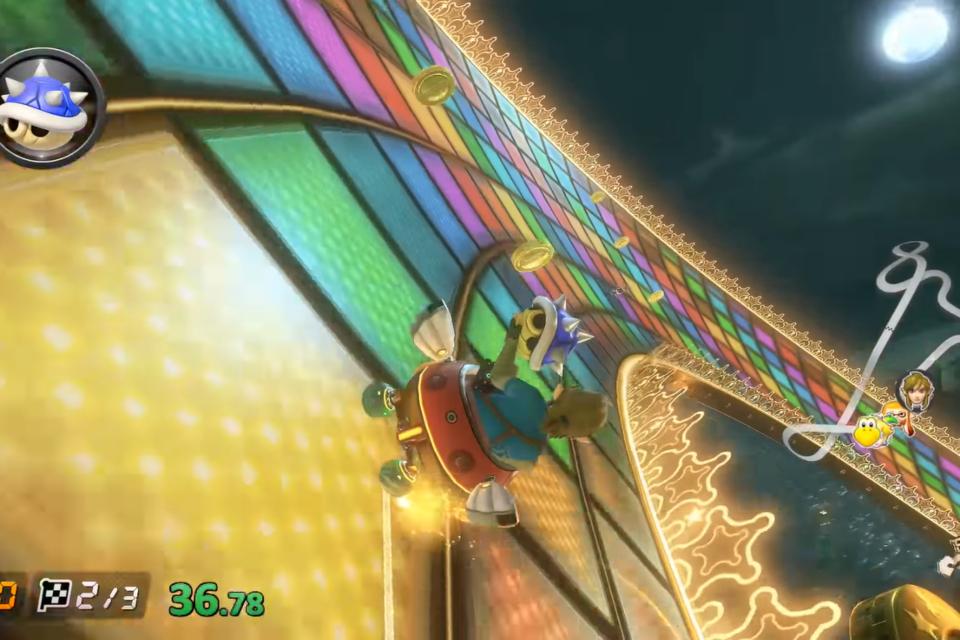 Mario Kart 8: speedrunners criam nova categoria da concha azul