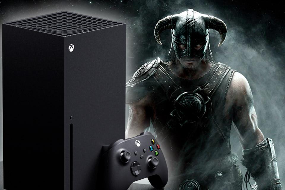 FPS Boost do Xbox Series chegará em Skyrim e mais jogos da Bethesda