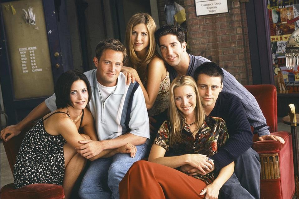 Como seriam os perfis dos personagens de Friends no Tinder?