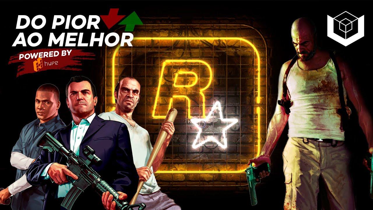Jogos da Rockstar: do pior ao melhor, segundo a crítica