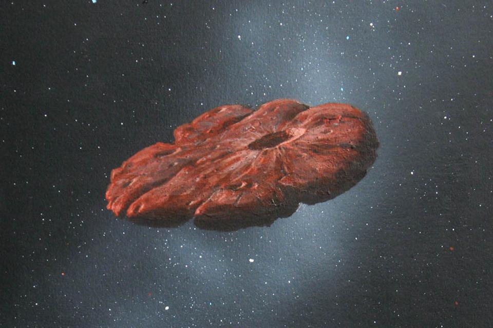Oumuamua pode ser pedaço de planeta similar a Plutão