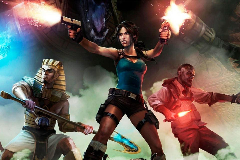 Square Enix está distribuindo jogos da Lara Croft de graça no PC