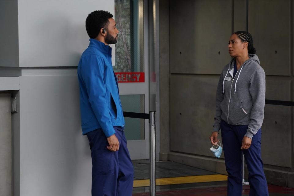 Grey's Anatomy: ator fala sobre relacionamento de Winston e Maggie
