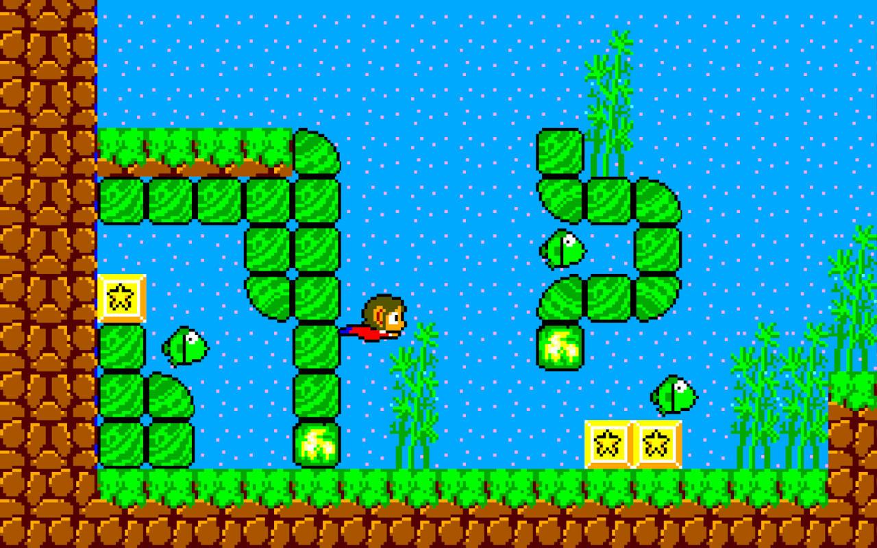 Alex Kidd In the Miracle World fez muito sucesso na era 8 bits