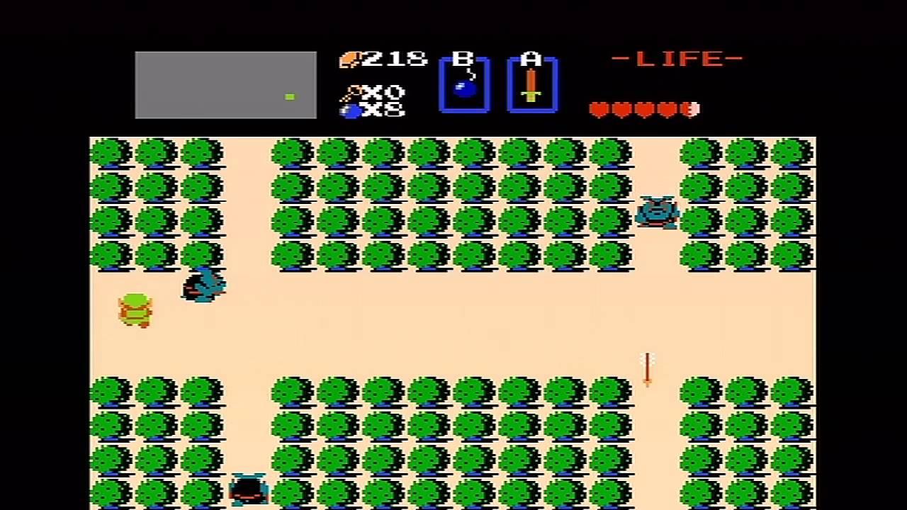 The Legend of Zelda teve seu primeiro game lançado em 1986 para o NES