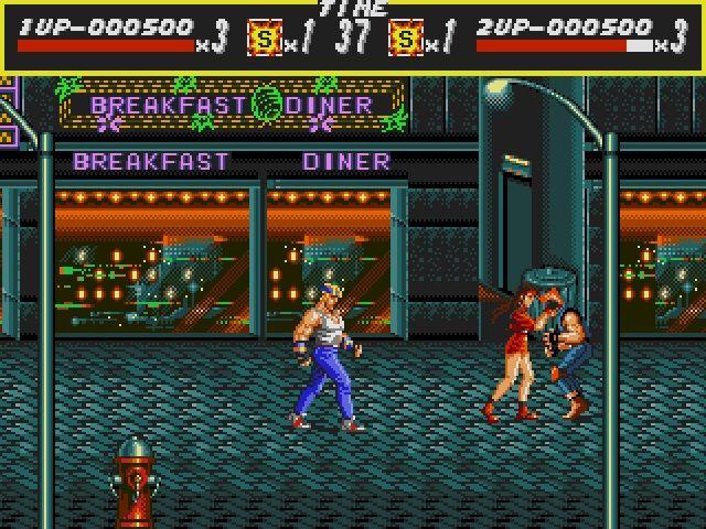 Street of Rage foi um dos primeiros Beat 'em up da SEGA