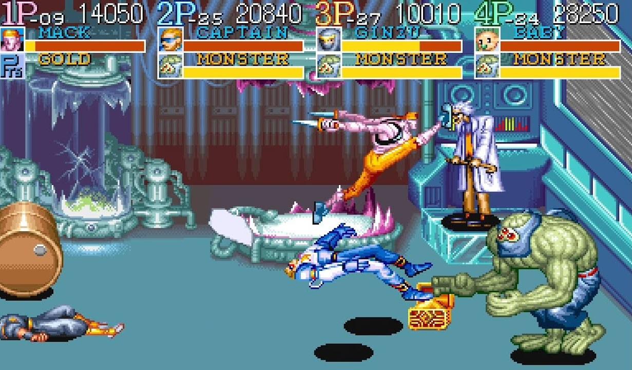 Captain Commando chegou em 1991 aos arcades e rapidamente se tornou um fenômeno