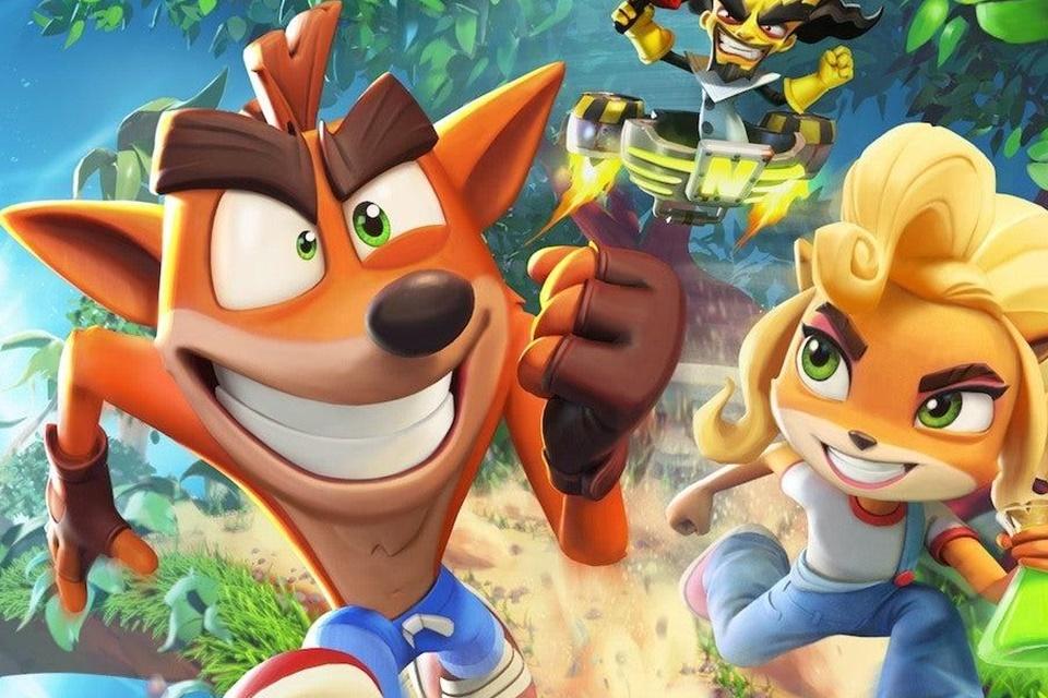 Crash Bandicoot: On the Run estreia em primeiro na App Store