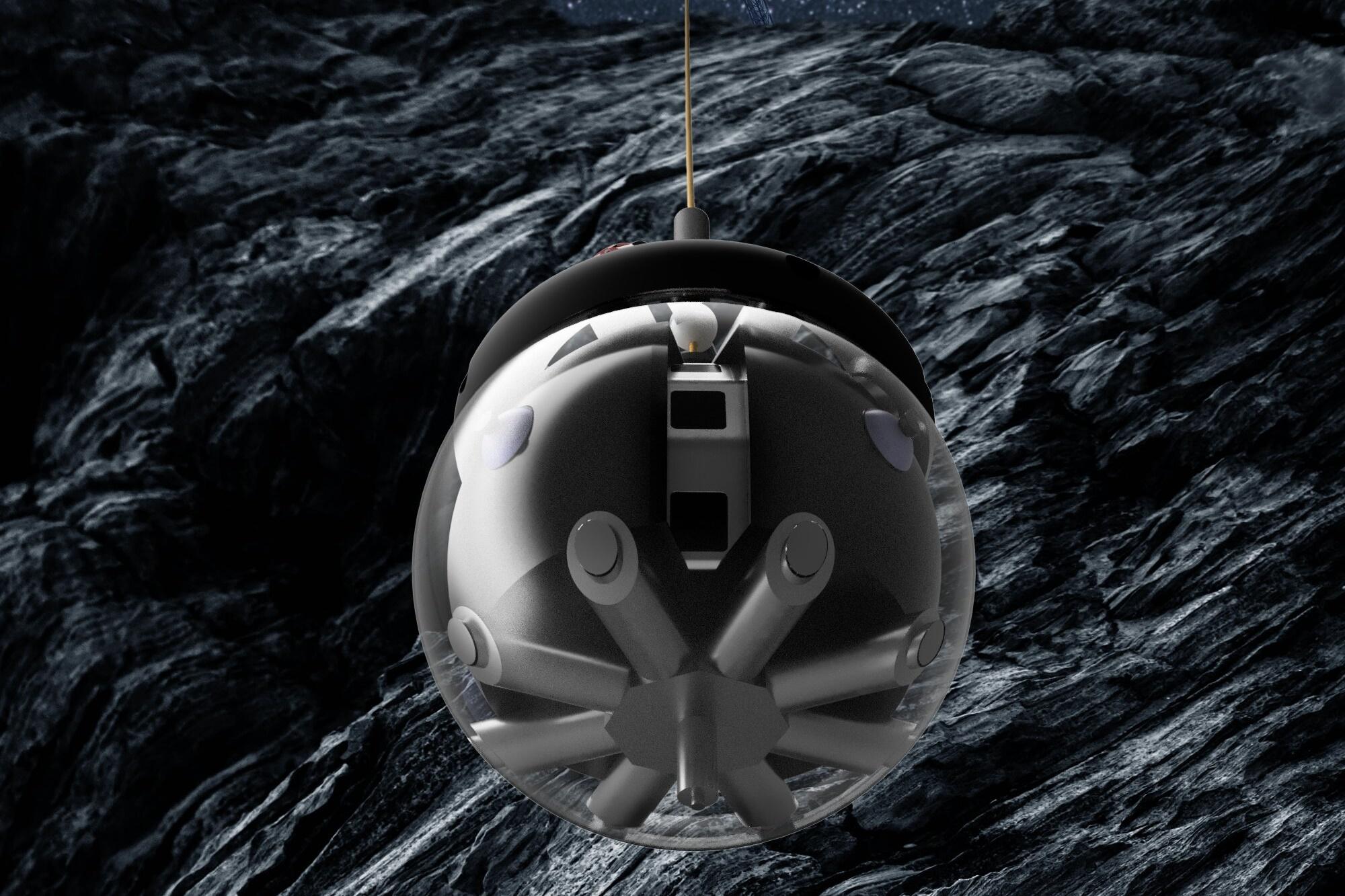 Europa testa sonda 'BB-8' para explorar cavernas lunares