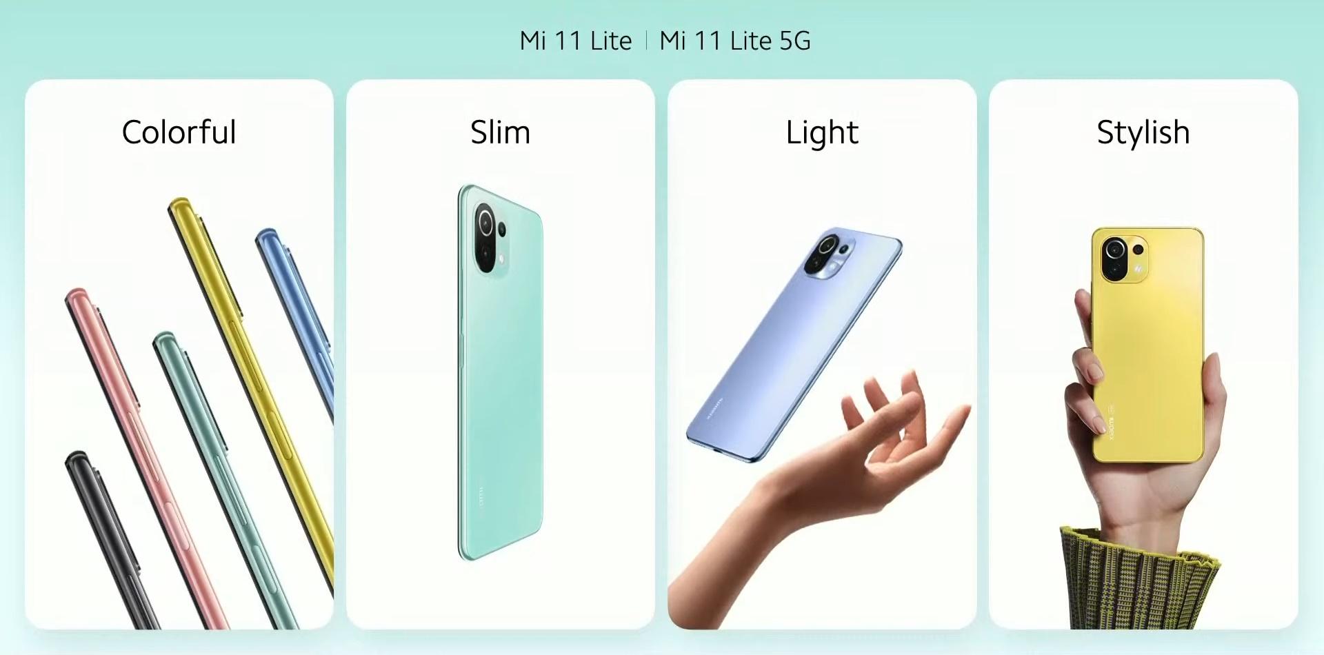 Mi 11 Lite, Xiaomi anuncia Mi 11i, Mi 11 Ultra e Mi 11 Lite
