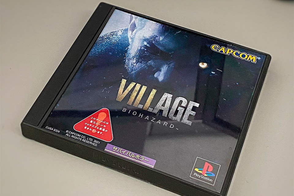 Resident Evil Village ganha caixa nostálgica ao estilo PS1
