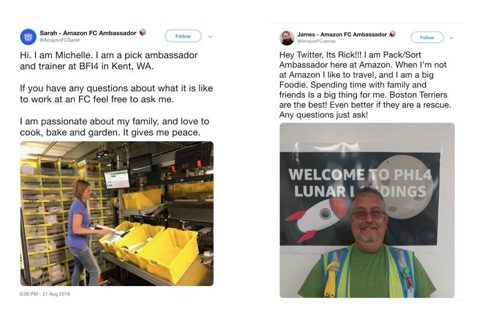 Fakes no Twitter se passam por empregados da Amazon e atacam sindicato