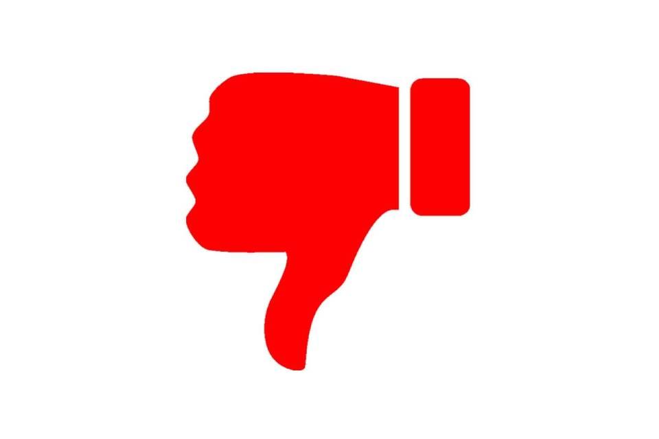 'Não gostei': YouTube testa remoção do número de dislikes da tela