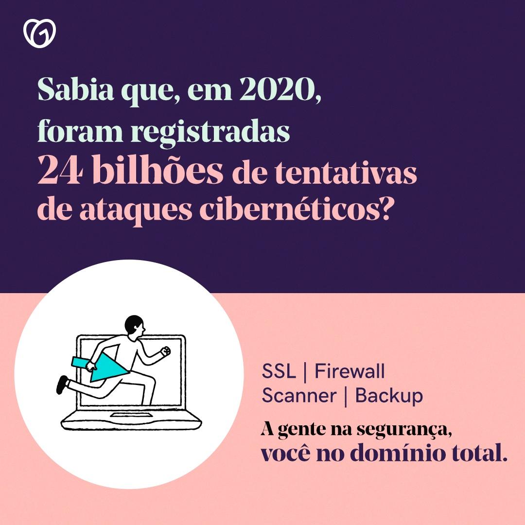 Informações de ataques cibernéticos em 2020