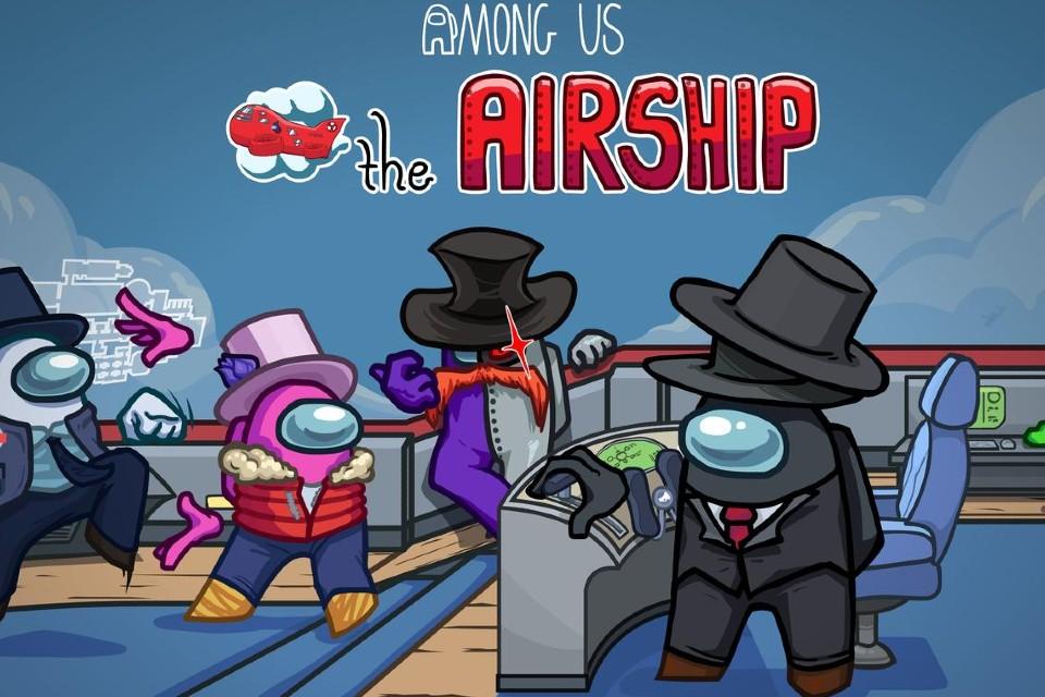 Among Us lança o mapa The Airship e novo sistema de denúncias