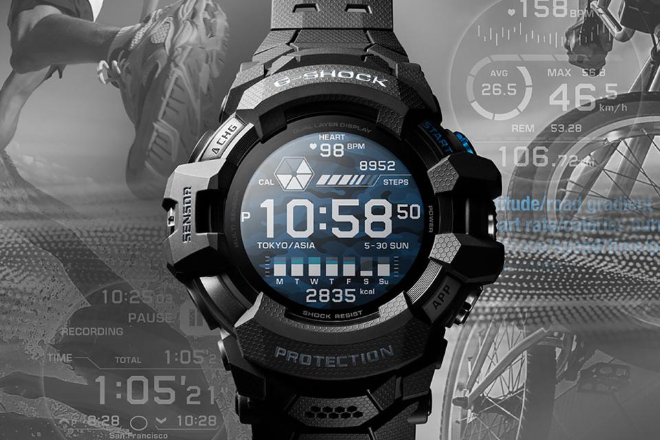 Casio revela o primeiro smartwatch da linha G-Shock com Wear OS