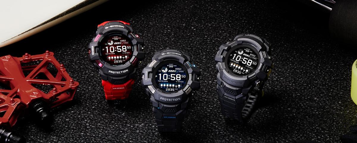 Imagem de: Casio revela o primeiro smartwatch da linha G-Shock com Wear OS