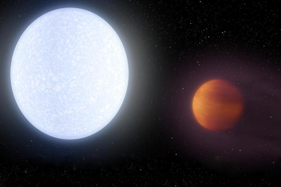 Planetas podem ser tão quentes quanto estrelas