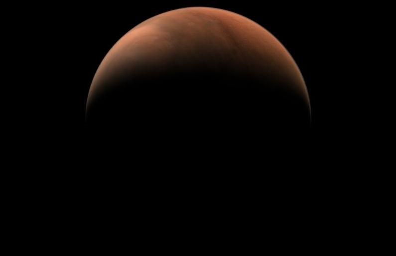 Sonda chinesa Tianwen-1 compartilha fotos incríveis de Marte