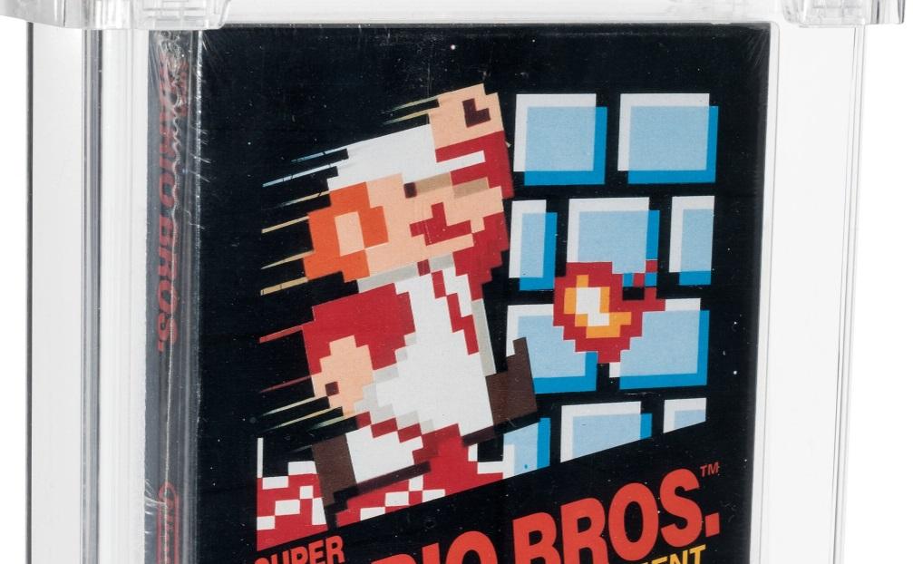 Cópia rara de Super Mario Bros. é vendida por US$ 660 mil em leilão