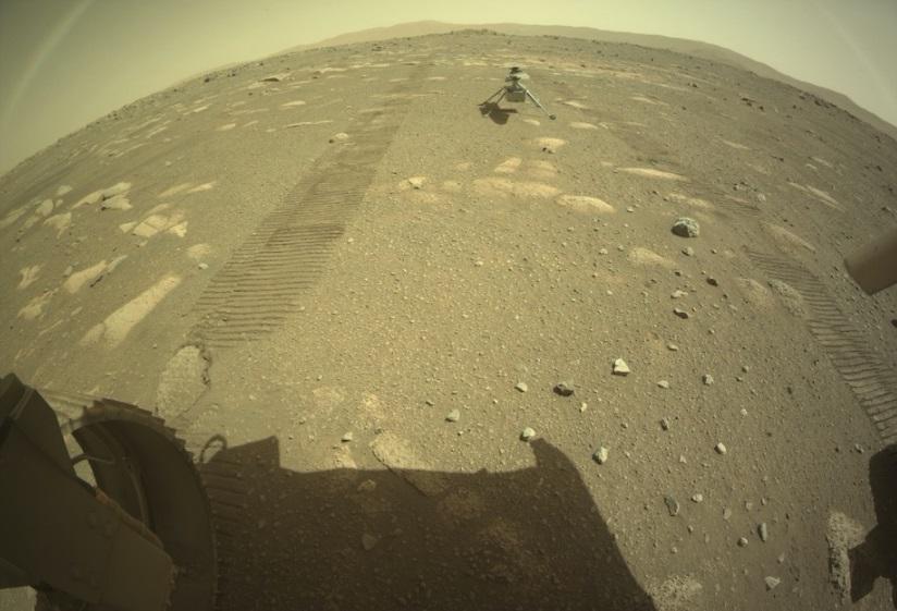 Ingenuity: helicóptero da NASA é ativado com sucesso em Marte